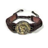 Lion Bracelet Cuff Rastafari Irie Reggae Jamaica Hawaii Vibes Adjustable1SZ