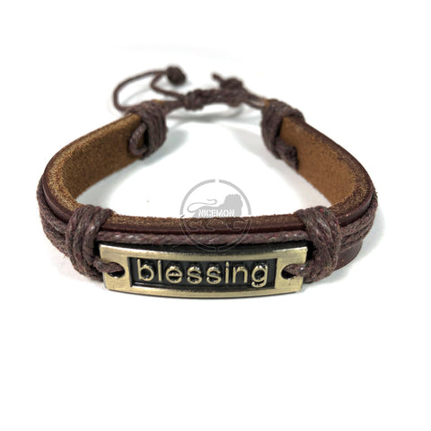 Blessing Bracelet Cuff Rastafari Irie Reggae Jamaica Hawaii Vibes Adjustable1SZ