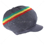 100% Cotton Mesh Nattydread Rasta Cap Hat Roots Reggae Rockers Jamaica M/L Fit