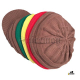 Roots Rastafari Hat Cap Peak Dreadlocks Jamaica Trinidad Caribbean Marley [ XL ]