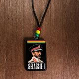 Selassie Rastafari Rasta One Love Marley Necklace Irie Jah Love One Love 26""