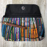 Handmade Purse Handbag Assorted Colors Bag Hobo Boho Hippie Bag LEATHER STRAP