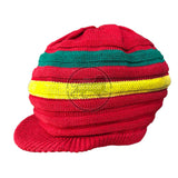 Jamaica Rasta Roots Africa Rastafari Marley Short Crown Hat Cap 100% Cotton S/M