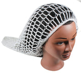 Fishnet Hair Net Hairnet Slouchy Cover Cap Hat Rasta Rastafari Dreadlocks XL/XXL