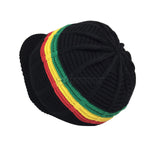 Irie Blessed Cool Runnings Rasta Reggae Hat Cap Short Crown Jamaica S/M
