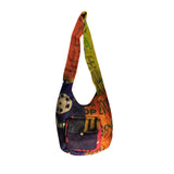 Handmade Burlap Jute Shoulder Messenger Handbag Handbags Bag Bags Hippie JUTE