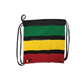 "Rasta Duffle Square Sack Ez Backpack Back Pack Reggae Marley Jamaica 15""x15"""