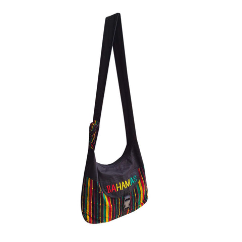 Bahamas Rasta Shoulder Bag Reggae Boho Hippie Bahamas Handbag Bag IRIE