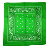 100% Cotton Paisley Bandana Headband Wrap Handkerchief Head Scarf