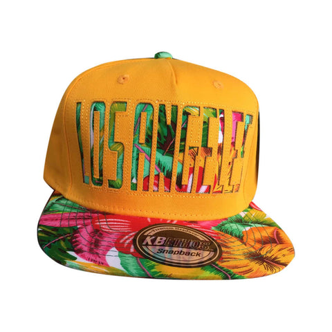 KB Ethos Premium Chicago Hip Hop Hiphop Hawaian Print Cap Hat Baseball SNAPBACK