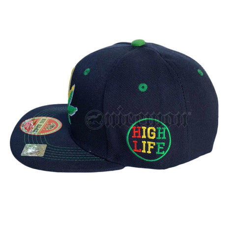 f128fc14e8c Sale Weed Leaf Snapback Cap Hat Flat Visor Snap Back Hip Hop Hiphop  Cannabis LEAF
