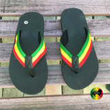 Rasta Sandals Flip Flops Casual Wear Jamaica Hawaii Beach Irie USA SZ 9.10.11.12