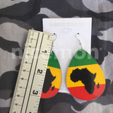 Africa Rasta Rastafari Empress Irie Earrings One Love Marley Reggae Jamaica NEW