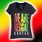 We Are Reggae T Shirt Rasta Reggae Rockers Irie 100% Cotton Cooyah CY