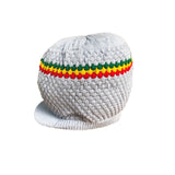 100% Cotton Rasta Hat Cap Natty Dreadlocks Jamaica Reggae Caps Africa Marley XL