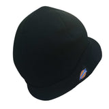 Dickies Billed Mens Double Knit Beanie Skull Cap Radar Hat Black One Size UNISEX