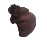 Unisex Pom Pom Beanie Tam Bonet Cuffed Uncuffed Hat Cap Knit Winter 1 SZ FIT
