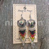 Jamaica Rasta Rastafari Empress Irie Earring One Love Marley Reggae Jamaica NEW