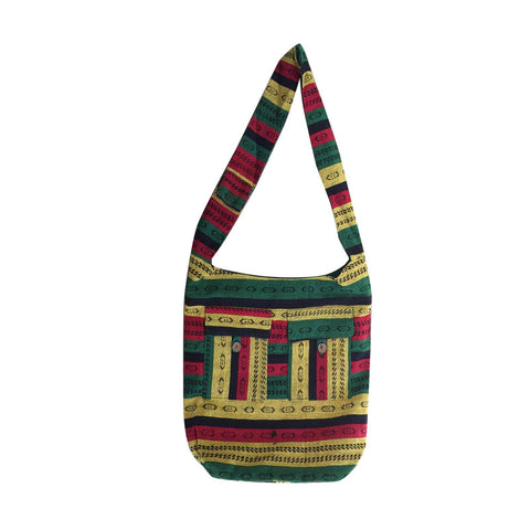 Jamaica Rastafari Hippie Hobo Messenger Bag Reggae Hawaii Marley IRIE