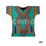African Africa Dashiki Tribal Hippie Men Shirt Womens Dress One Size Fit UNISEX