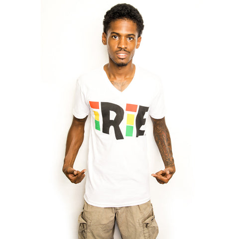 Irie Cooyah Rasta Irie T Shirt Rastafari Jah One Love 100% Cotton Jamaica CY