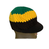 Skully Rastacap Reggae Rasta Cool Runnings Beanie Kufi Skull Hat Cap Roots SM