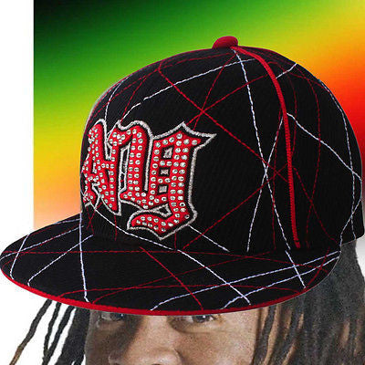 Hip Hop Urban Cap Hat Fitted Black Flat Visor Fitted Urban Vibe Cap Urban NY