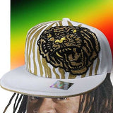 Hip Hop Urban Wear Cap Hat Fitted White Cap fitted Eye Of The Tiger Urban Cap BC