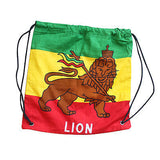 Lion Of Judah Reggae Cool Runnings Ez Backpack Back Pack Lion Irie Jamaica 17""