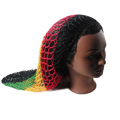 Fishnet Hair Net Hairnet Slouchy Cover Cap Hat Rasta
