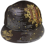 Hip Hop Hiphop Urban Wear Cap Hat Baseball Gangster Fitted Brown Cap Fitted NY
