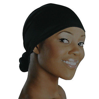 Handmade Knotted Wrap Strectchy Hat Cap Reggae Rastafari Dreadlocks FLEXIBLE 1SZ