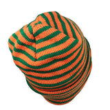 Suffer Striped Beanie Kufi Hat Cap Hippie Cool Runnings Hawaii Radar Style Irie 1SZ FIT