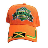 Roots Jamaica Flag Cap Hat Kingston Negril Montego Marley Usain Reggae Rasta 1sz