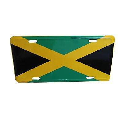 Jamaica Flag Licenses Plate Rasta Irie Marley Reggae One Love Roots Jamaica 12x6