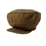 Brown Rasta Hat Cap Applejack Africa Rastafari Dubwise Reggae Crown Negus M/L