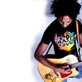 Rasta Live Cooyah Irie T Shirt Rastafari Jah One Love 100% Cotton Jamaica CY
