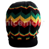 Rasta Hat Peak Slouchy Crown Marley Reggae Jamaica Cool Runnings Unisex Irie L/XL
