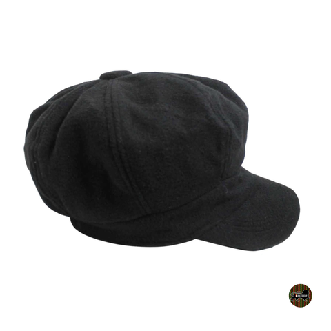 Newsboys Hat Cap Cabbie Black Hat Cap One Size Fit Cabbie Newsboy Hat 1sz Fit