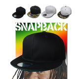 Snapback Cap Hat Flat Visor Snap Back Hip Hop Hiphop Urban Headwear 100% COTTON