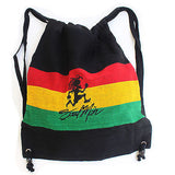 Soul Mon Cool Runnings Ez Backpack Back Pack Reggae Marley Rasta Jah Jamaica 17""
