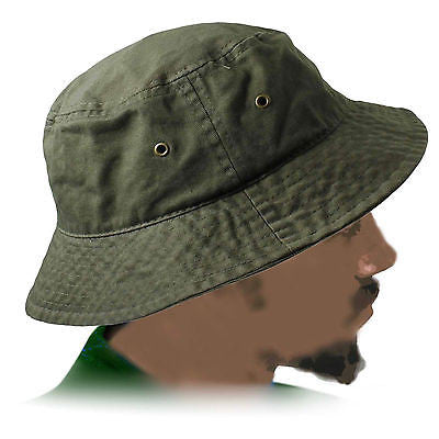 Army Green Cadet Jungle Cap Hat Hunting Army Marines Military Adult Size 1sz Ft