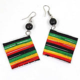 Rasta Rastafari Empress Irie Earring One Love Marley Reggae Jamaica Style NEW
