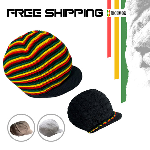 Irie Bless One Love Cap Hat Rasta Rastafari Jamaica Reggae Marley Caps S/M Fit