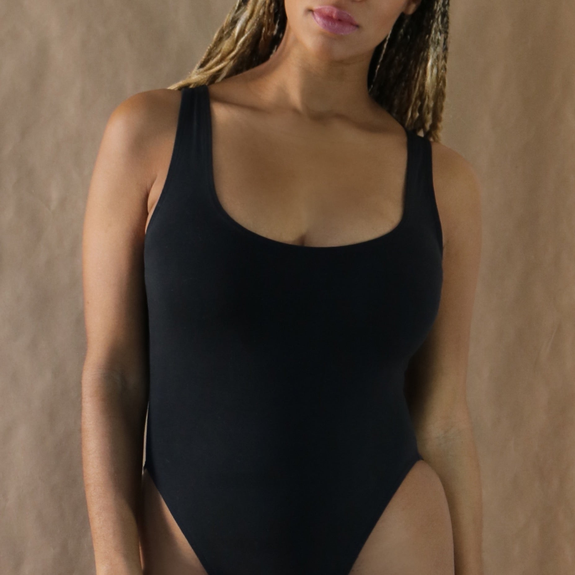 bodysuit, black