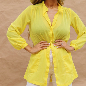 easy tunic, sunshine