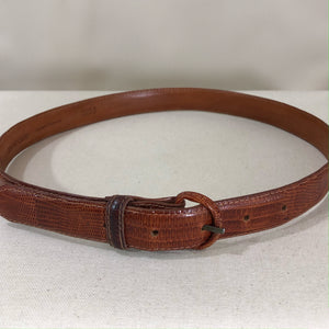 RL daily belt, cognac