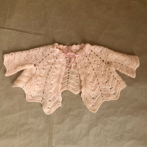 sweet knit caplet | 18 -24 mos.