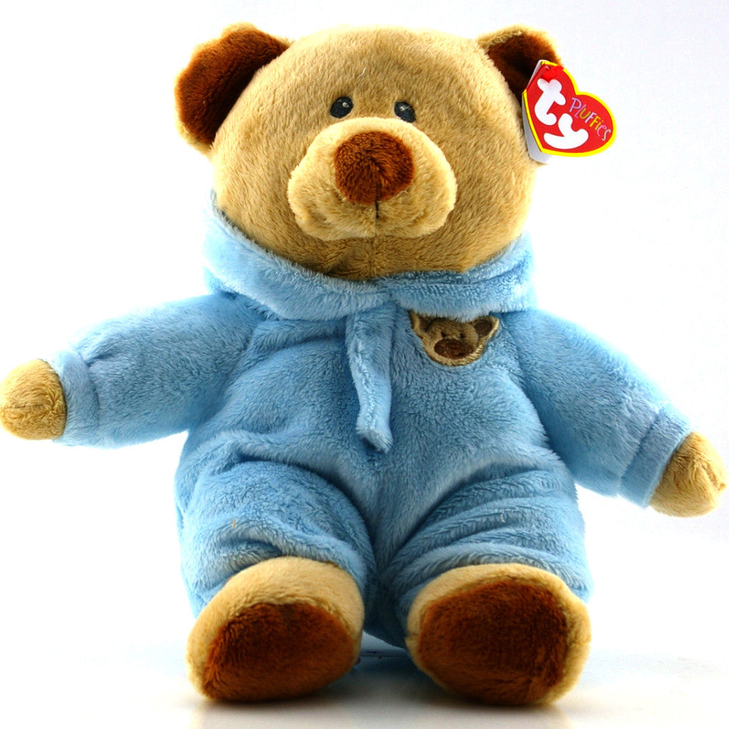 TY Pluffies    Blue Baby Bear    – HallGift 933862660a9