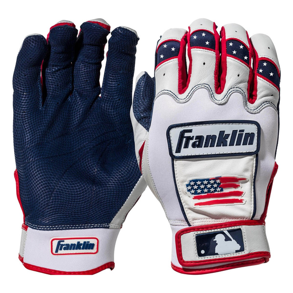 Franklin CFX Pro Limited Edition USA 4th Of July Batting Gloves
